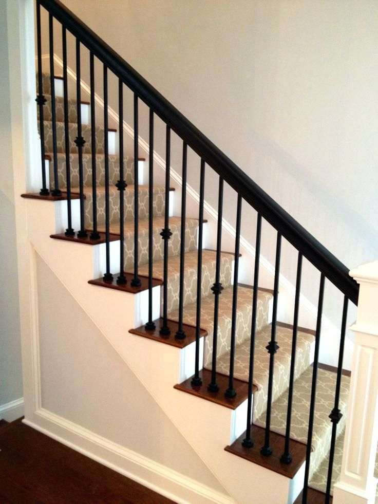 Decoration Exterior Iron Balusters Staircase Handrail And