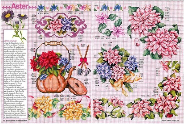 Gallery.ru / Фото #3 - Encyclopedie du point de croix ( Fleurs arbres et feuilles ) - tymannost