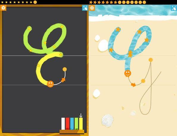 ABSitter Lite. Un tool per insegnare l'alfabeto corsivo ai bambini in età prescolare