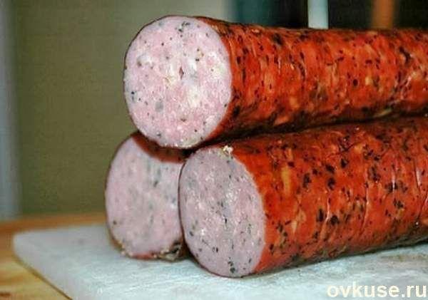 Куриная колбаска - вкуснотища