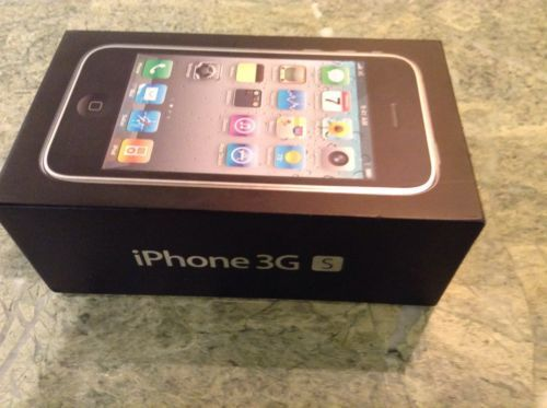 APPLE IPHONE 3GS 8GB BOX ONLY PAMPHLETS MANUAL GUIDE DECAL STICKERS | eBay