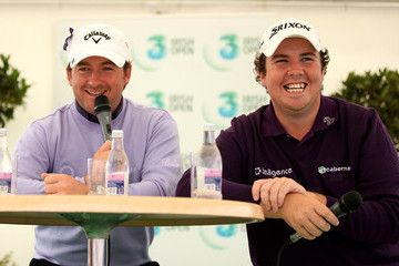 Graeme McDowell Shane Lowry 3 Irish Open - Round Two