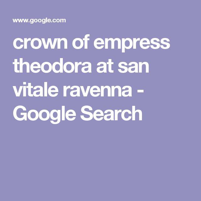 crown of empress theodora at san vitale ravenna - Google Search
