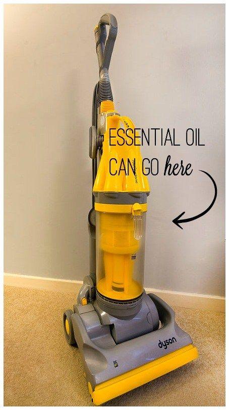 essential oils, vacuum cleaner