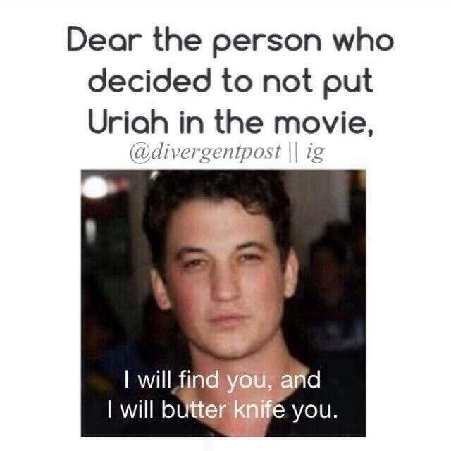 Yes! And the person who casted that guy as peter!! He looks like he's 50!! No offence.. and I actually liked his character!! Ik he was a villain but still!!
