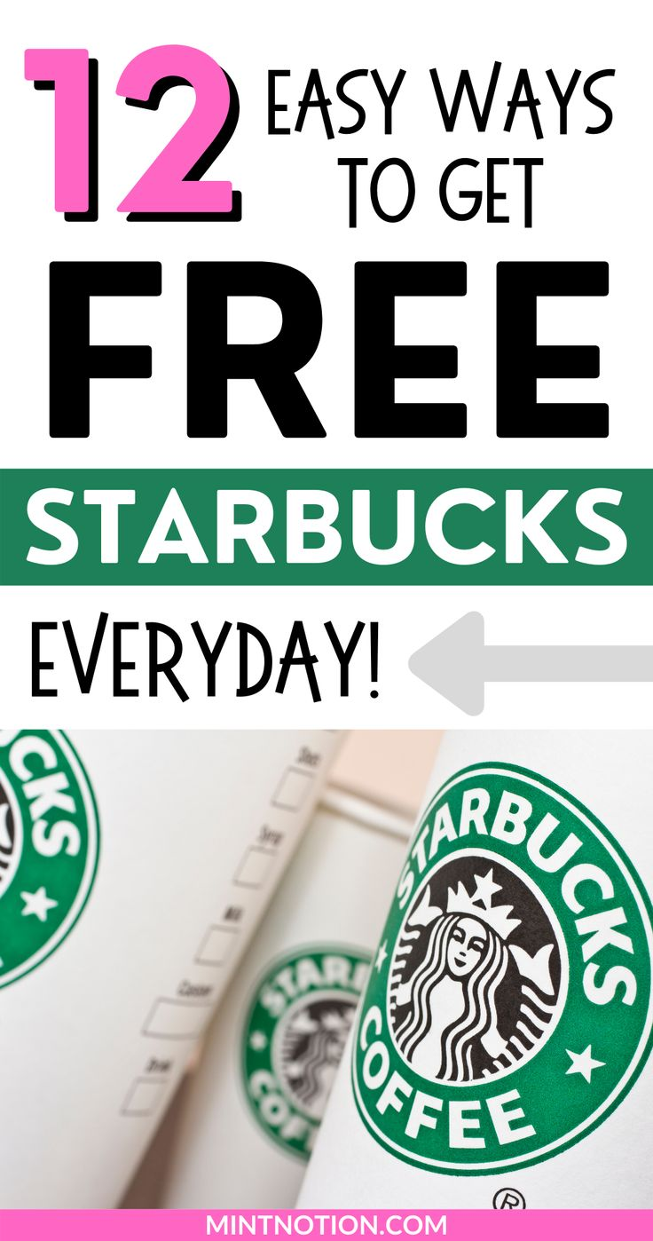 12 easy ways to get free starbucks gift cards in 2021