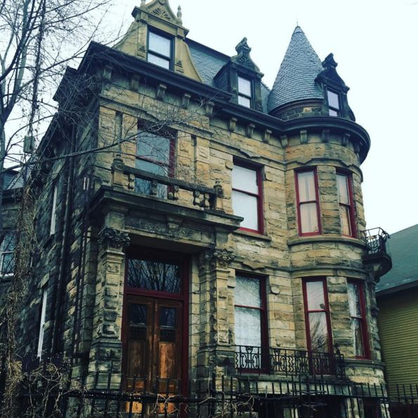 Franklin Castle in Cleveland, OH