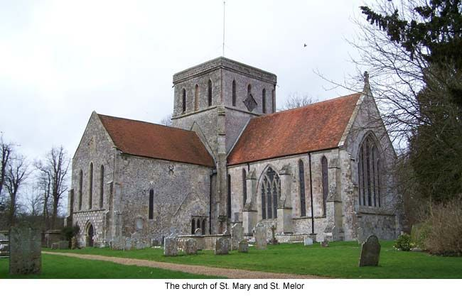 Amesbury Abbey Church-  Eleanor of Provence is buried here