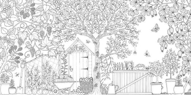 Secret Garden: An Inky Treasure Hunt and Colouring Book: Amazon.es: Johanna Basford: Libros en idiomas extranjeros