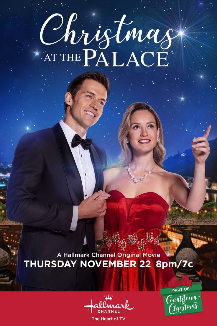 """Merritt Patterson and Andrew Cooper whisk you away to """"Christmas at the Palace"""" on November 22 ..."""