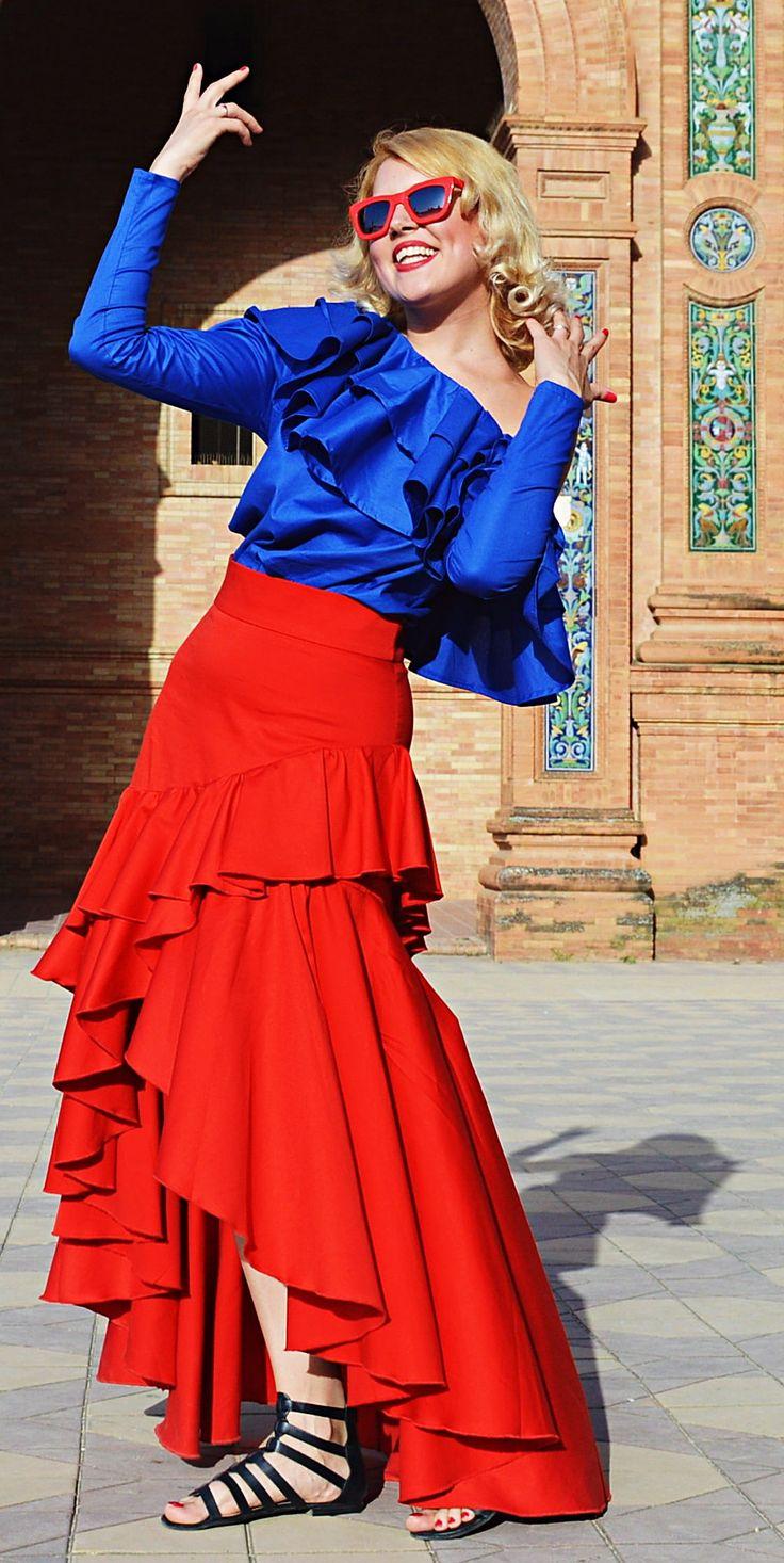 Red Ruffle Skirt, Red Cotton Skirt, High Waist Skirt, Long Tail Skirt, Long Maxi Skirt, Flared Skirt TS20 by TEYXO https://www.etsy.com/listing/519885910/red-ruffle-skirt-red-cotton-skirt-high?utm_campaign=crowdfire&utm_content=crowdfire&utm_medium=social&utm_source=pinterest