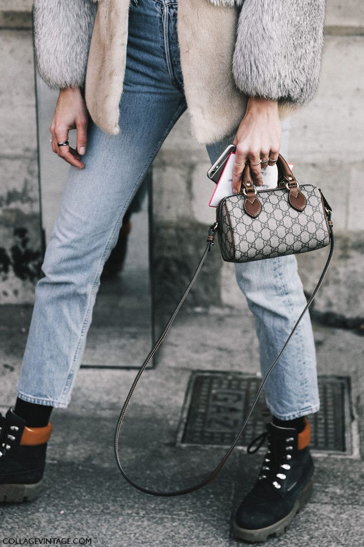 Street Style Paris Haute Couture   Collage Vintage... - Total Street Style Looks And Fashion Outfit Ideas