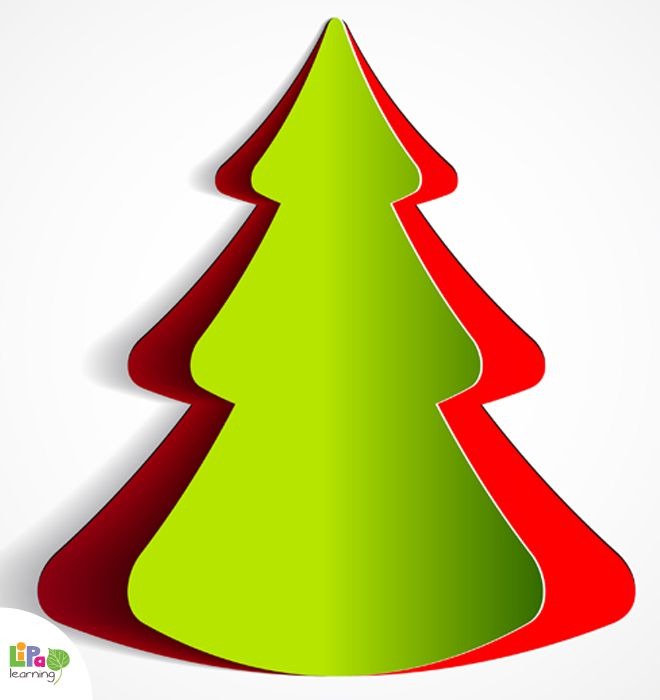 How to make your 3D Christmas greeting card? Lipa has a simple solution for you and your kids.