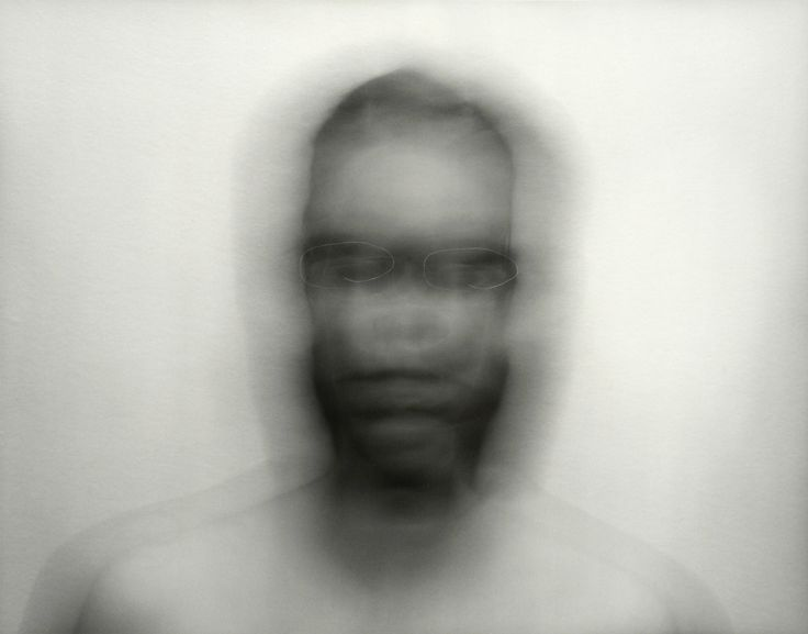 Blythe Bohnen,  Self Portrait: Motion Recorded Via the White of the Artist's Eyes. 1974