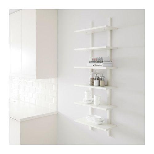 VÄRDE Wall shelf  - IKEA For kitchen wall by fridge
