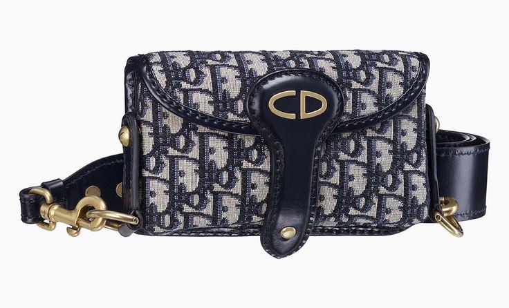 Сумка Dior Oblique Flap Mi Canvas. 98000 рублей. Бутики Dior