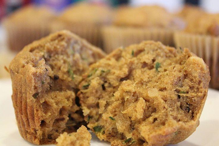 Moist & Delicious Gluten & Dairy Free Zucchini Bread or Muffin Recipe.