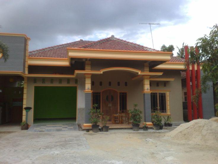 Desain Rumah Kampung Modern pada 60 Populer Desain Rumah ...