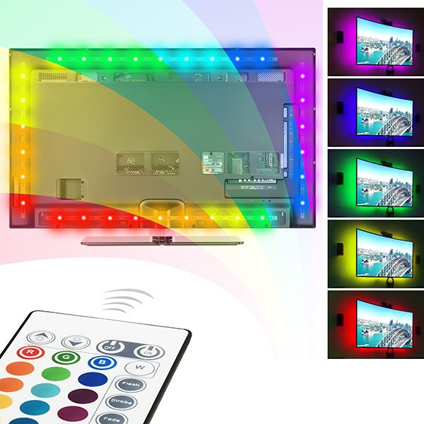 die besten 25 led streifen rgb ideen auf pinterest led streifen warmwei led streifen. Black Bedroom Furniture Sets. Home Design Ideas