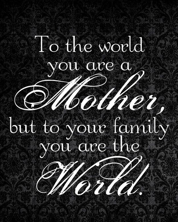 Cute and Short Mother's Day Quotes   Homemade Gifts for Moms by DIY Ready at http://diyready.com/diy-gifts-mothers-day-quotes/