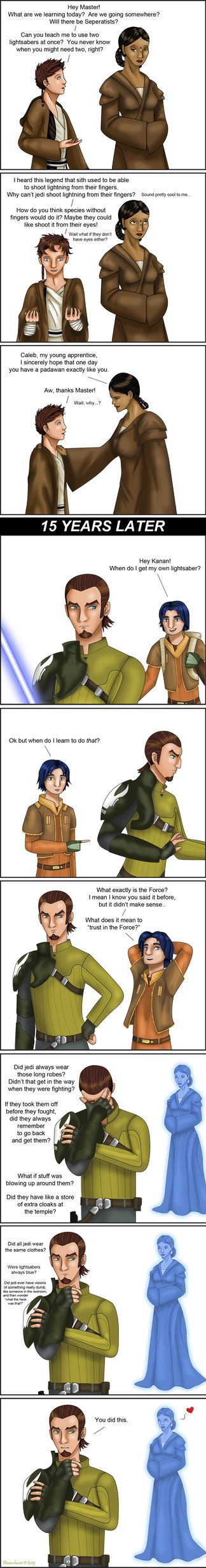 SWR: The Mother's Curse by Dawnchaser~EVERY JEDI MASTER SAYS THIS TO THEIR PADAWAN AT SOME POINT