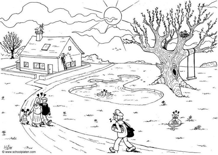 Activity Village Spring Coloring Pages