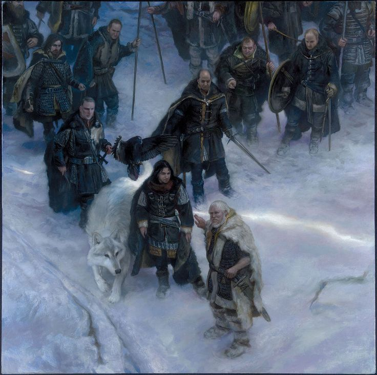 Nights Watch - A Song of Ice and Fire 2015 Calendar by DonatoArts, via deviantart
