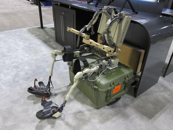 Berkeley Bionics Lockheed Martin HULC Human Universal Load Carrier Anthropomorphic Exoskeleton for Military Combat SOFIC 2012 DefenseReview....