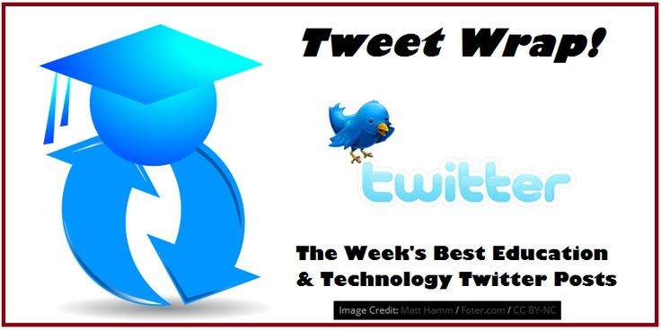 Inspiring, informative, useful, or just plain fun tweets about education and instructional technology articles, resources, etc.
