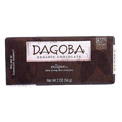 Chocolate 38174: Dagoba Organic Chocolate Bar - Dark Chocolate - 87 Percent Cacao - Eclipse -> BUY IT NOW ONLY: $32.38 on eBay!