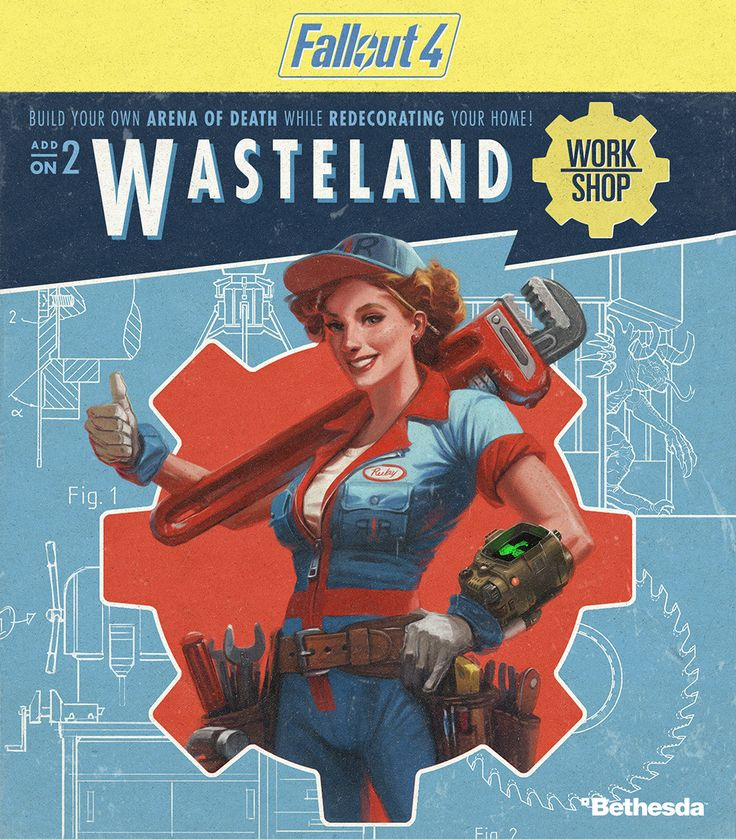 Fallout 4 Add-Ons – Automatron, Wasteland Workshop, Far Harbor and More | Bethesda.net