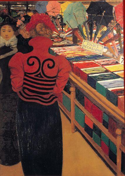 La Fiancée de la Nuit | Au Bonheur des Dames, Felix Vallotton