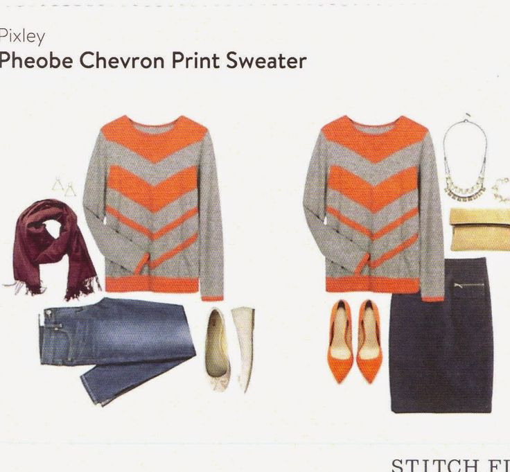 {February Stitch Fix} -- Pheobe Chevron Print Sweater by Pixley I like this! Great for keeping comfy!
