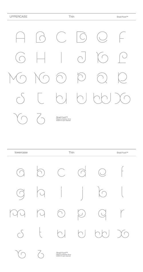 Snail™ by Fontfabric. cute font!