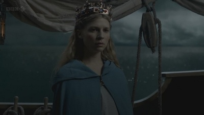 Young Allora on her way to marry the king