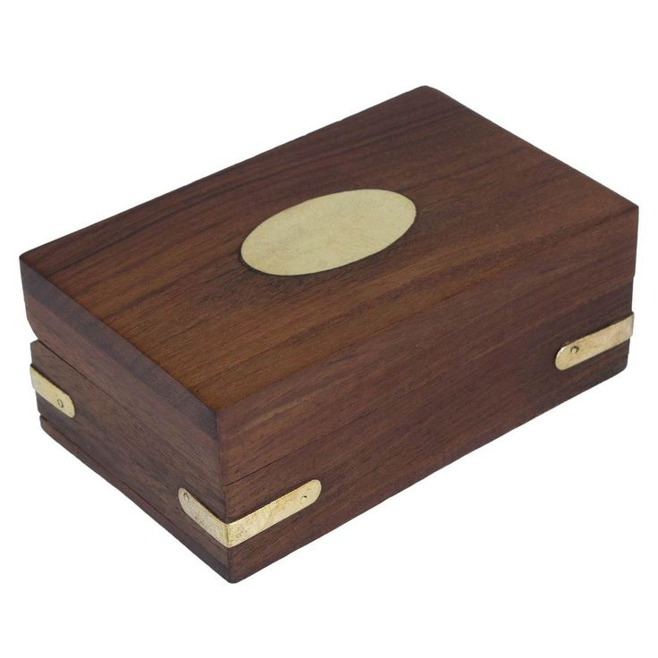 Wooden Jewelery Box Handmade Storage Best Gift for Family and Friends