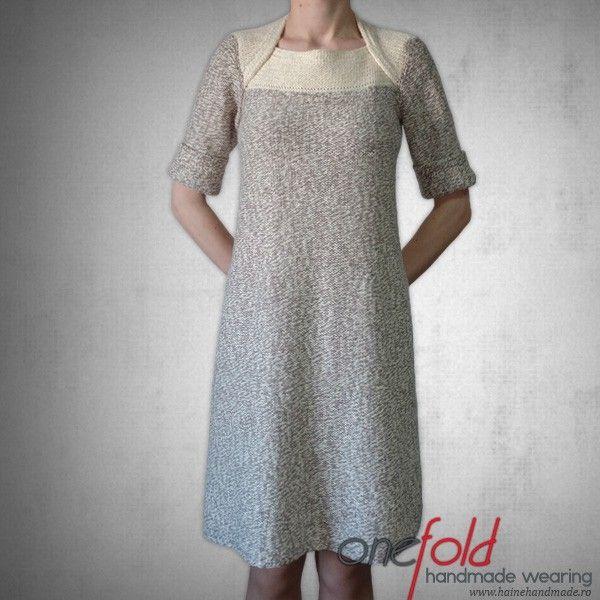 rochie cu maneci indoite