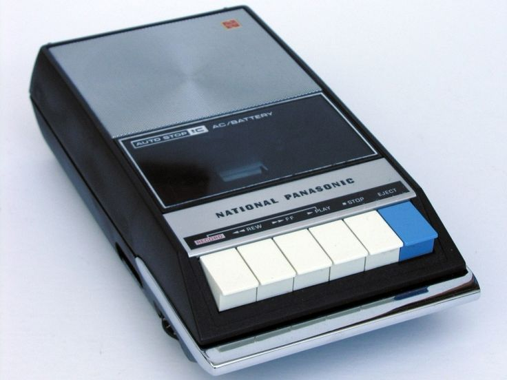Mono Cassette Tape Recorder, 70´s - omg I had one of these!!!