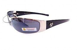 Biohazard Mens Wrap Sunglasses