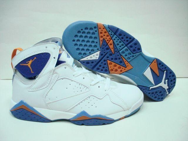 http://www.myjordanshoes.com/air-jordan-7-retro-white-orange-blue-p-276.html?zenid=rf8isjppc1bnft0cbilprbnad3  Only AIR #JORDAN 7 #RETRO WHITE ORAN…