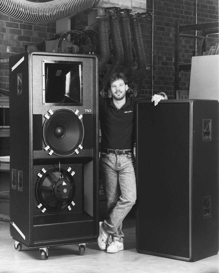 TAD Concert speakers