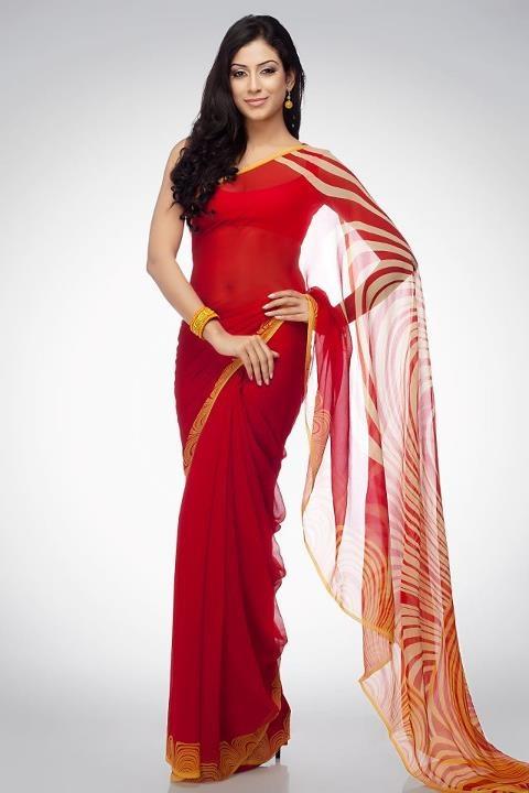 Designer Saree <3  #SatyaPaul