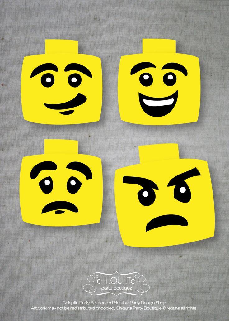 Printable Lego's Masks