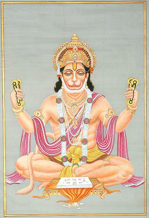 Lord Hanuman Sings the Glories of His Beloved Lord Rama
