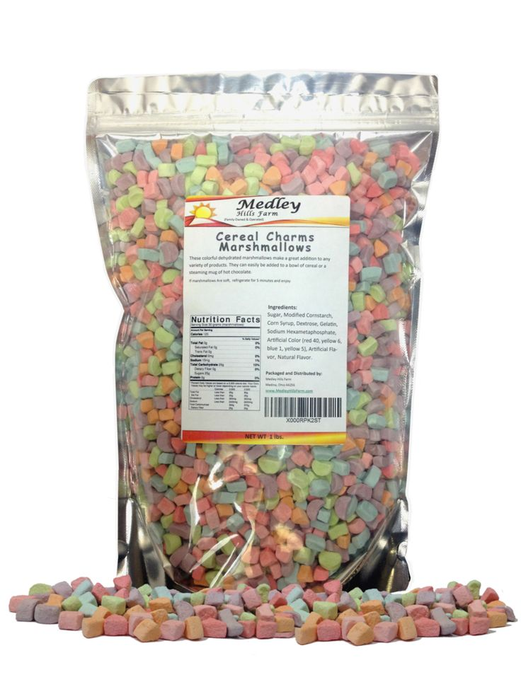 Lucky Charms Marshmallows only