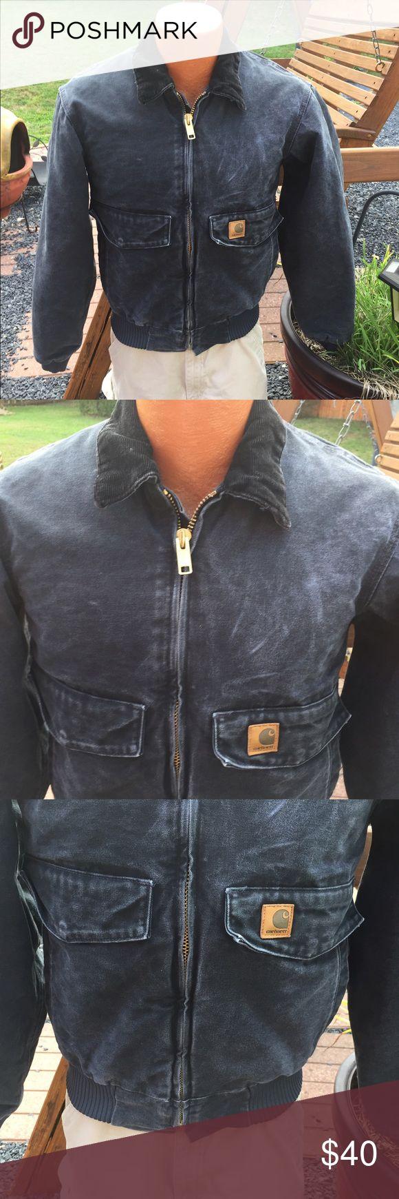 Carhartt Mens Black Jacket Coat Size Small Jacket 4806, Mens size small. Still has a ton of life left it. Carhartt Jackets & Coats Bomber & Varsity