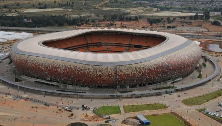 Estadio Soccer City Stadium sede de la final de copa del mundo de sudáfrica 2010