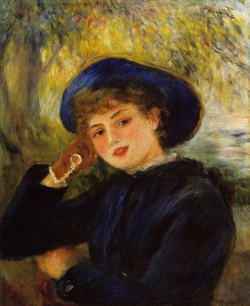 french painters | It's About Time: Hats, Hats, Hats - More Renoir