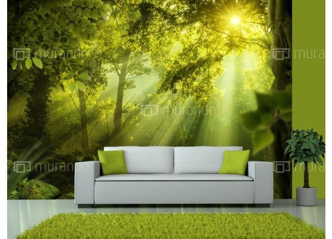 Přírodní motivy | Lesní tajemství | Luxusní 3D fototapety a tapety na zeď.