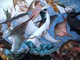 Картинки по запросу питер брейгель падение ангелов
